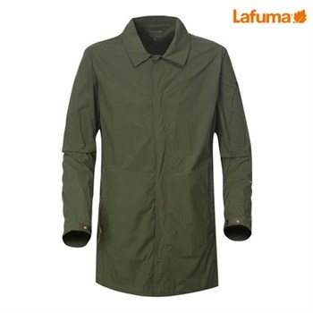 [NEW]라푸마 남성 카키 WIND-TECH(방풍) 아웃도어 롱자켓 LMJ06B378KK