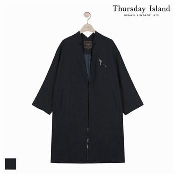 [★인하][Thursday Island]여성 가디건 노카라 코트(T176MCT131W)