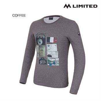 [엠리밋] 남성 디파쳐(DEPARTURE) 라운드 티셔츠 LSKFT002