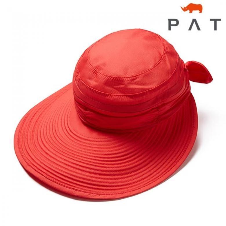 PAT 와이드 브림드 헷-1C27430/레드