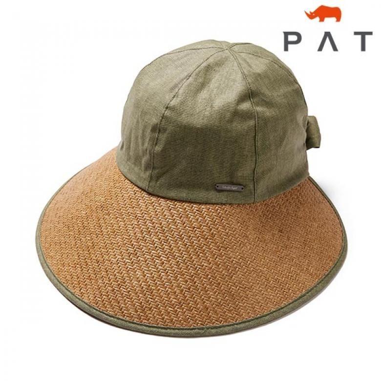 PAT 페이퍼 바이저 캡-1C27403/카키