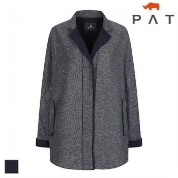 [단독]PAT 여성 투톤 돌먼소매 자켓-1C61201
