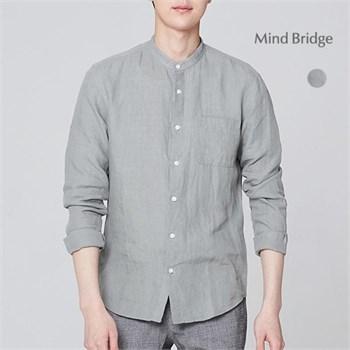 [★10%쿠폰]린넨가먼트워싱스탠에리셔츠 MSWS3125