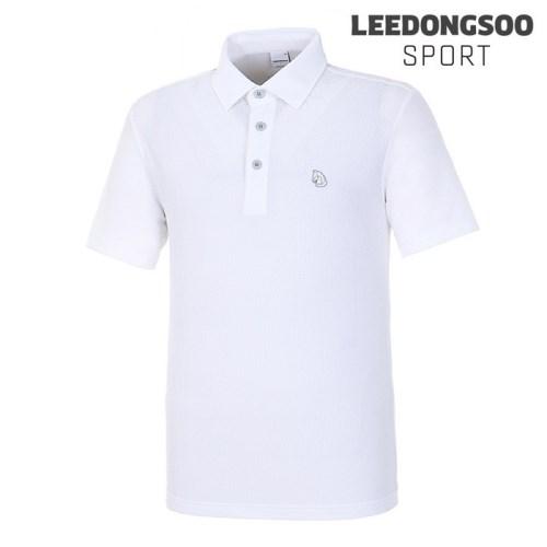 이동수스포츠 남성 허니콤 메쉬 스트레치 반팔 티셔츠 (H8BTS3560-W1)