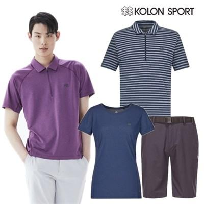 [코오롱스포츠] 여름코디 완성 반팔티셔츠/팬츠 모음전