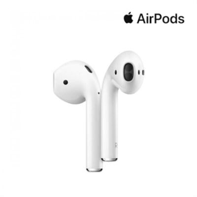 [애플] 정품 에어팟 2세대 무선 충전 MRXJ2KH/A